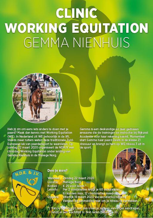 Clinic Gemma Nienhuis
